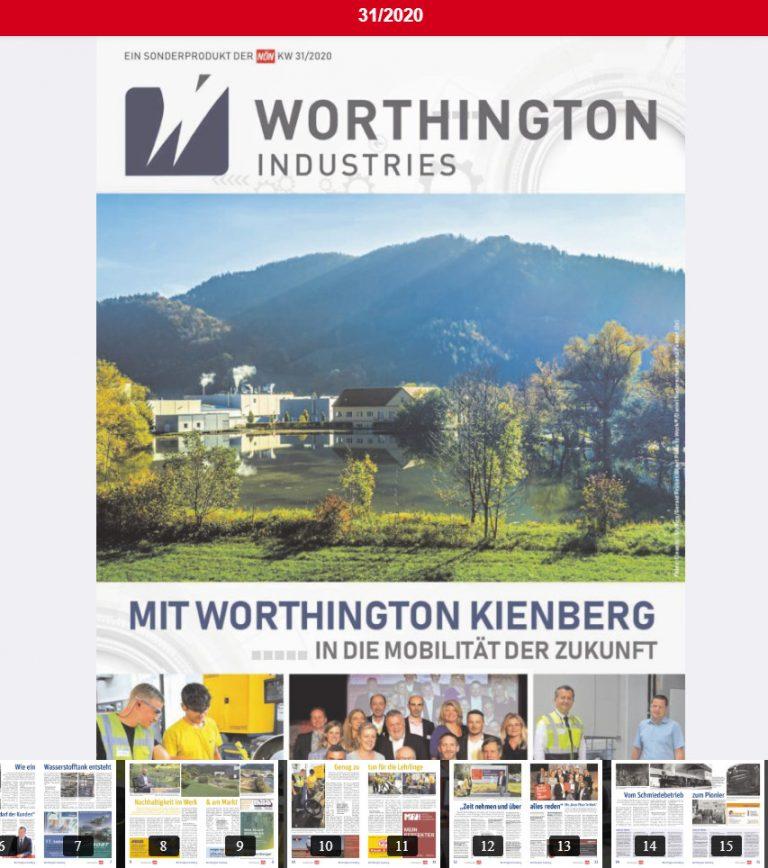 NÖN extra magazine on Worthington Austria