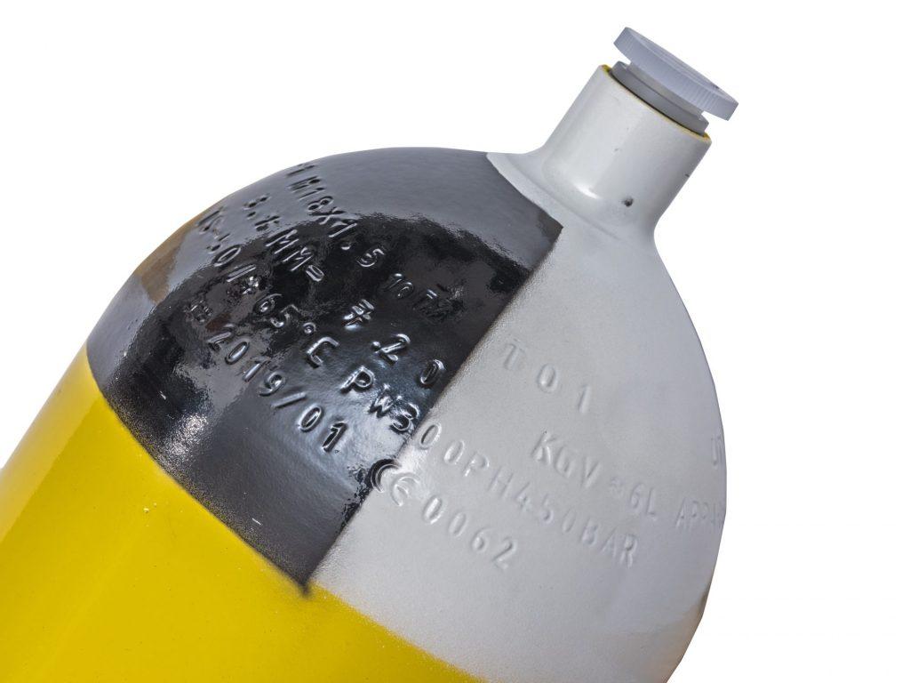 Worthington SCBA Type I cylinder