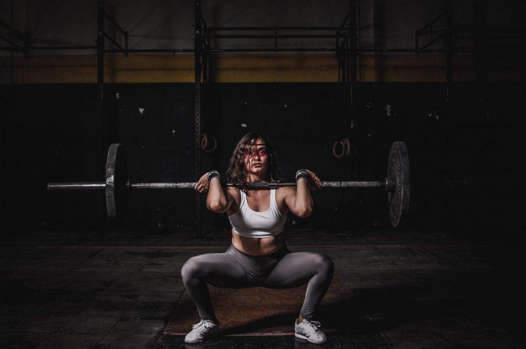 Indian weight lifter